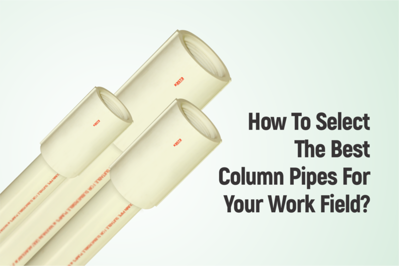 How To Select The Best Column Pipes For Your Work Field